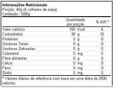 Malto Dextrin 1 kg - Atlhetica