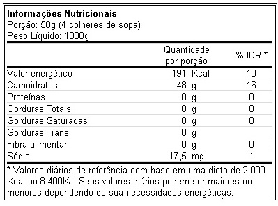 Maltodextrina 1 Kg - Body Action