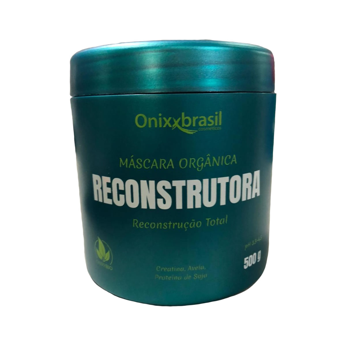 Máscara Orgânica Reconstrutora 500g - Onixxbrasil