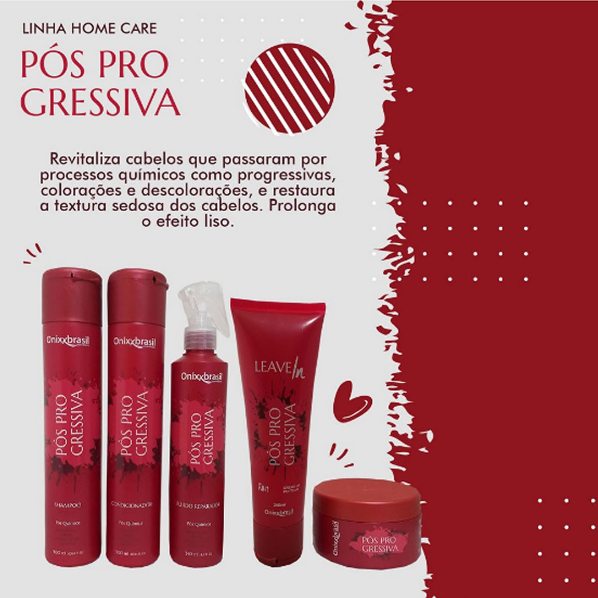 Máscara Pós Progressiva 250g - Onnixbrasil