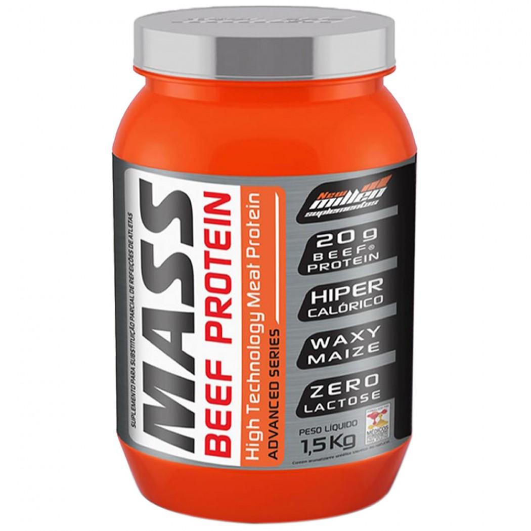 Mass Beef Protein 1,5 kg - New Millen