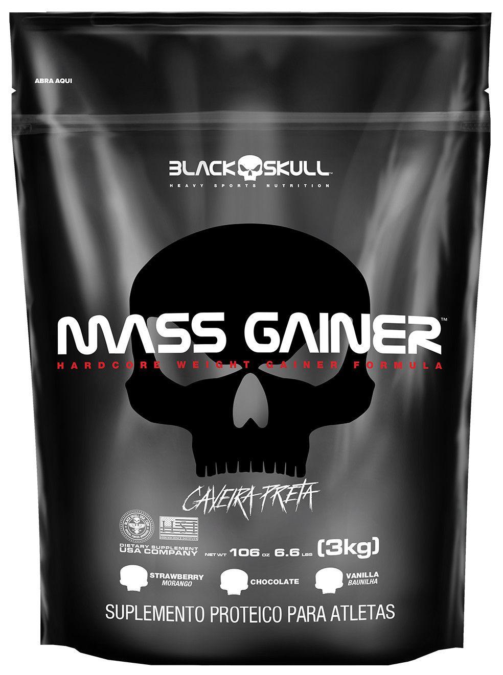 Mass Gainer 3 Kg (SC) - Black Skull