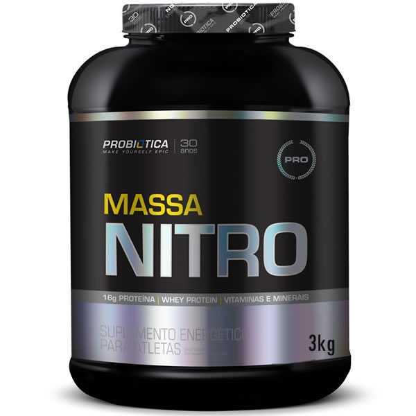 Massa Nitro No2 3 Kg - Probiótica