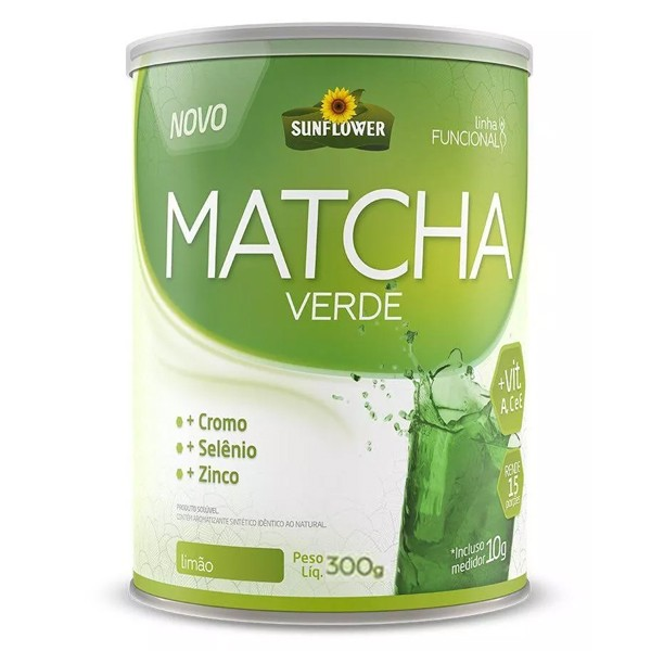 Matcha Verde 300 g - Sunflower