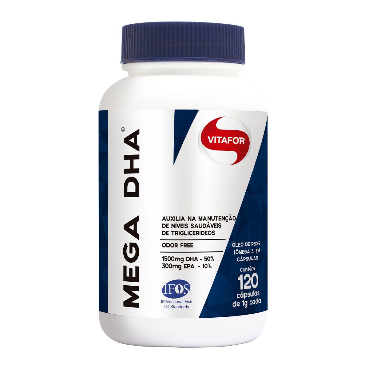 Mega DHA 120 Cápsulas - Vitafor