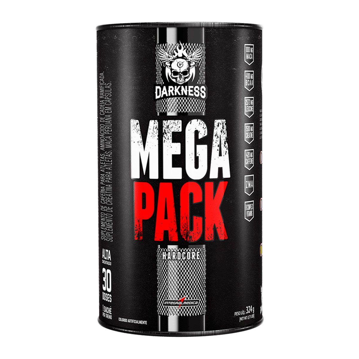 Mega Pack Hardcore 30 Packs - Integral Médica