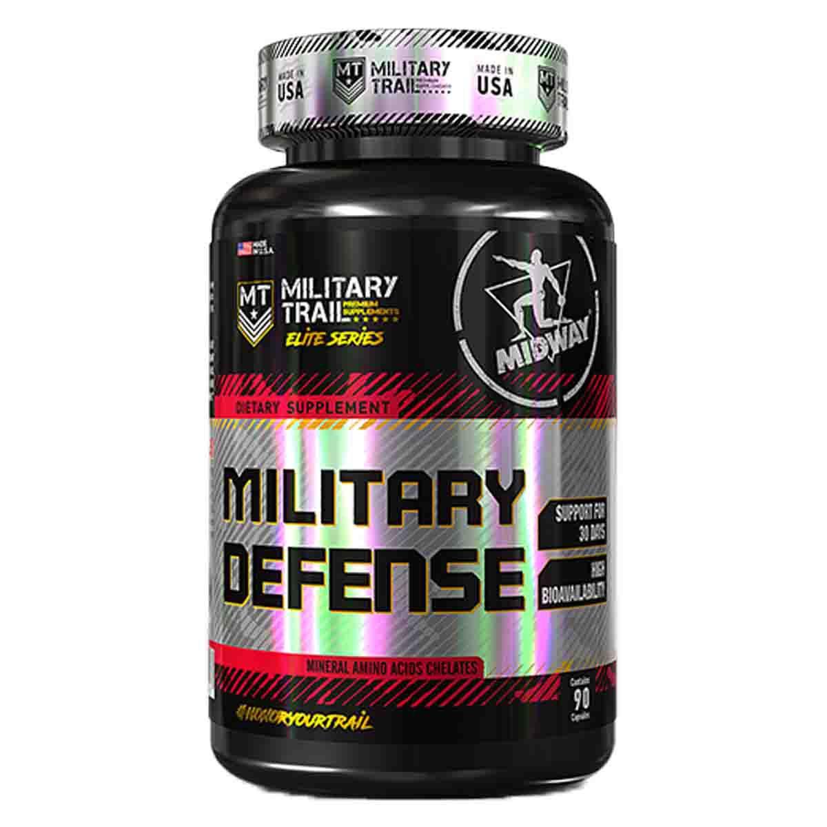 Military Defense 90 cápsulas - Midway