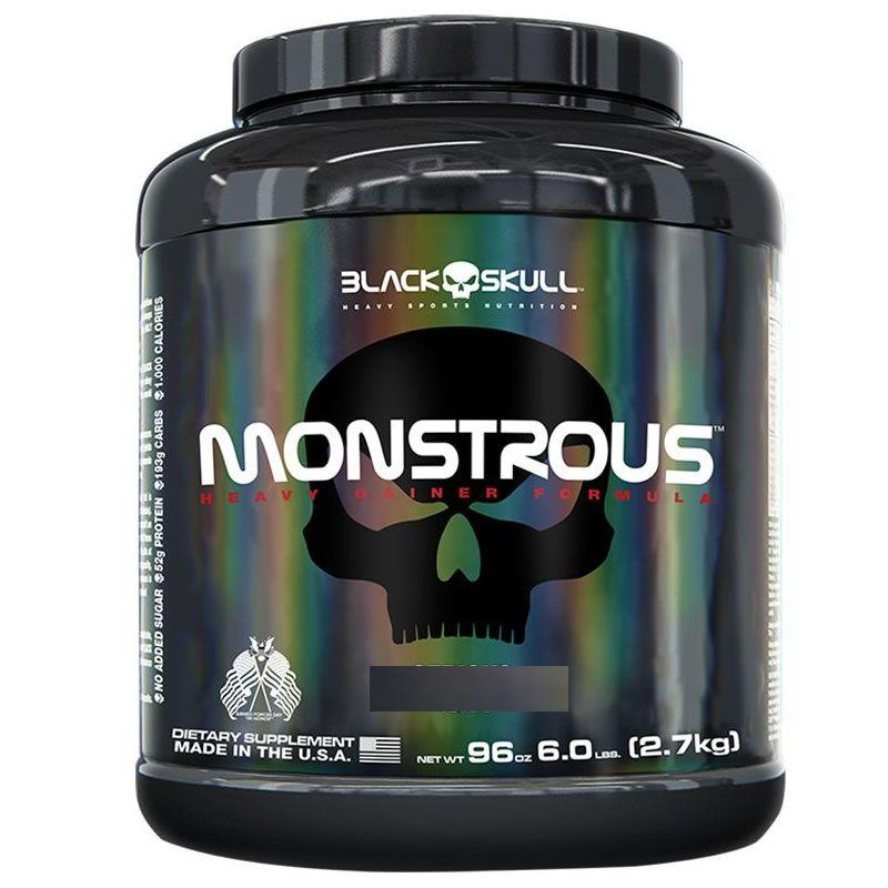 Monstrous Gainer 2,7 Kg - Black Skull