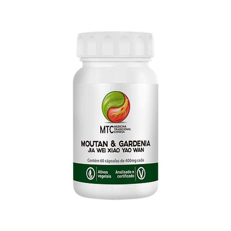Moutan & Gardenia - Jia Wei Xiao Yao Wan (60 cápsulas) - Vitafor