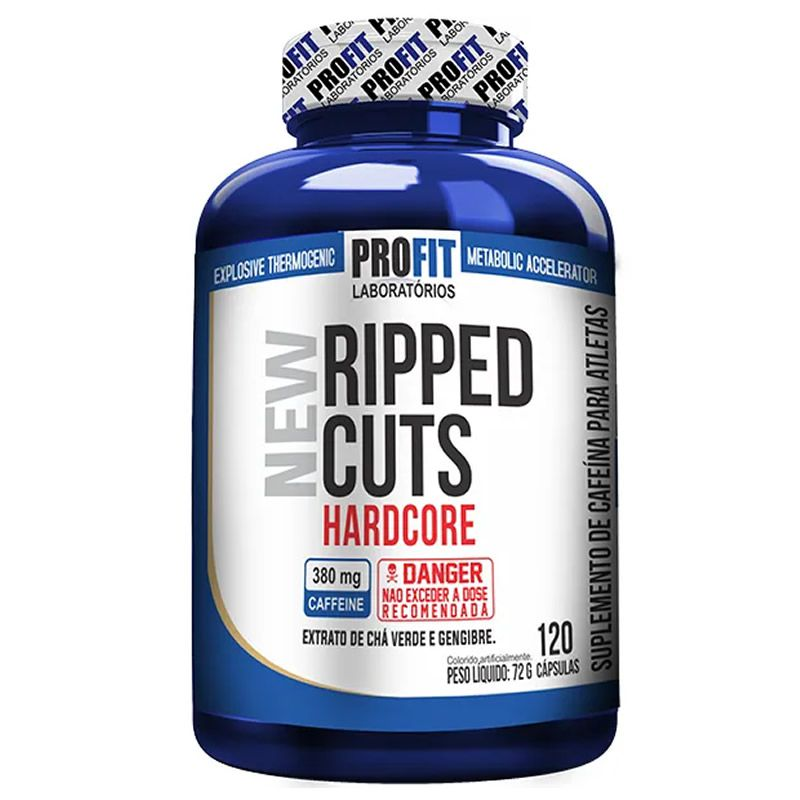 New Ripped Cuts Hardcore 120 Cápsulas - Profit