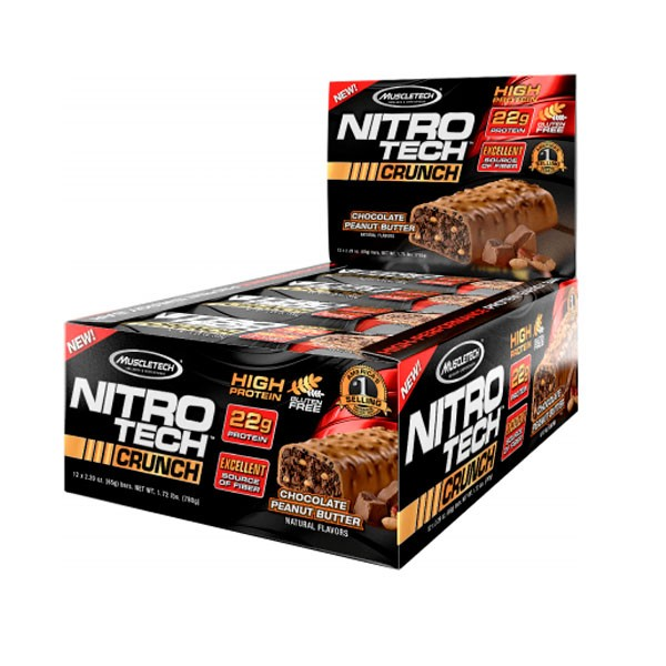 Nitro Tech Crunch Barra 65g - Muscletech