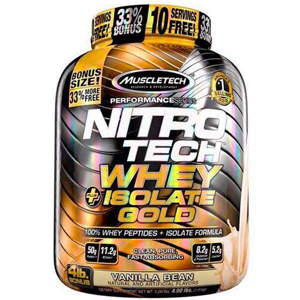 Nitro Tech Whey Isolate Gold 1,8kg - Muscletech