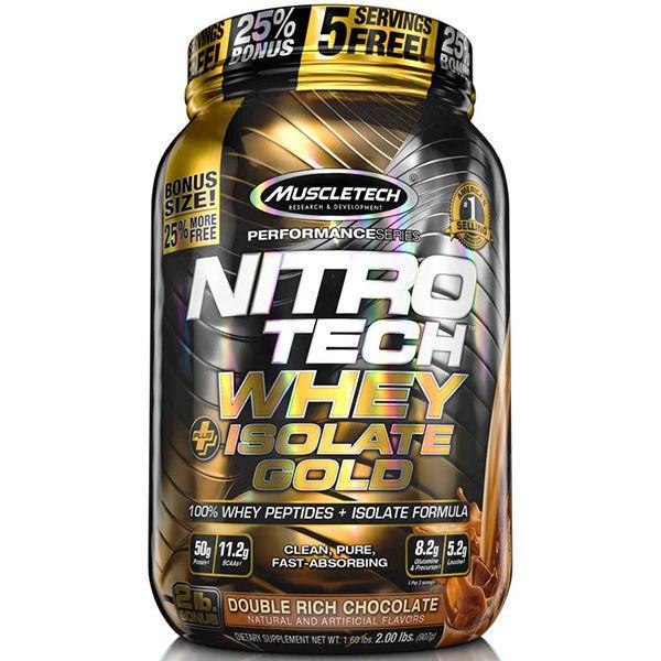 Nitro Tech Whey Isolate Gold 900g - Muscletech