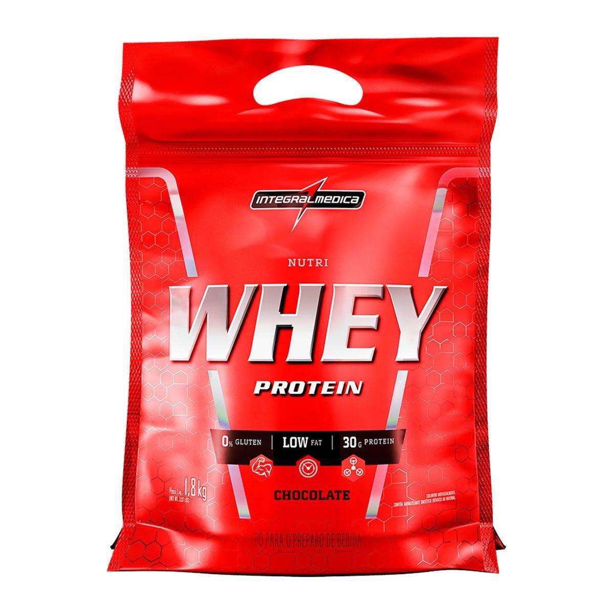 Nutri Whey 1,8kg - Integral Médica