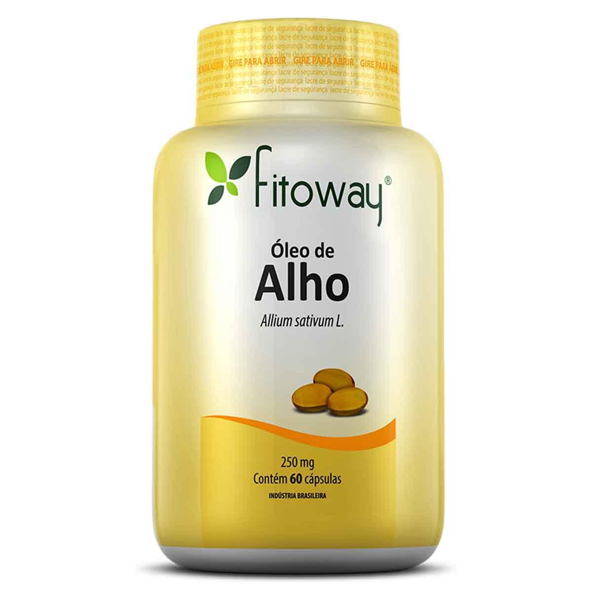 Óleo de Alho 250mg 60 cápsulas - Fitoway