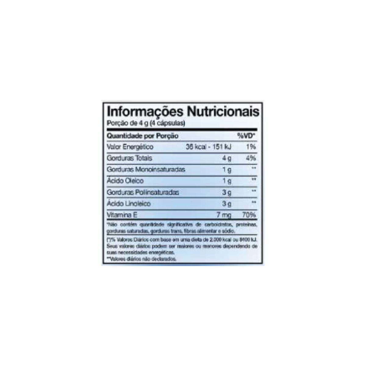 Óleo de Cartamo 1000mg 120 cápsulas - Nutrends