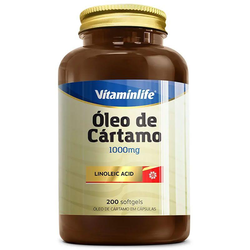 Óleo de Cártamo 200 Cápsulas - Vitamin Life
