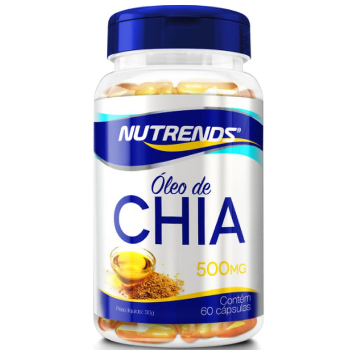 Oleo de Chia 60 Capsulas - Nutrends