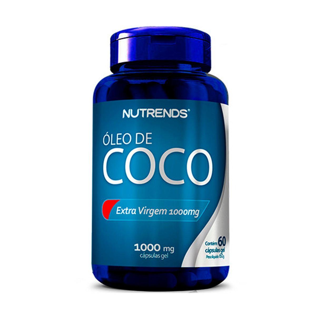 Óleo de Coco 1000mg 60 cápsulas - Nutrends