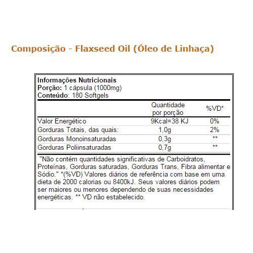 Óleo de Linhaça 60 cápsulas - Vitamin Life
