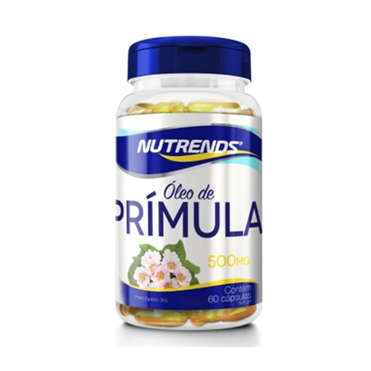 Oleo de Primula 500mg 60 Capsulas - Nutrends