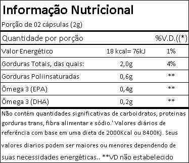 Ômega 3 200 cápsulas - Vitamin Life