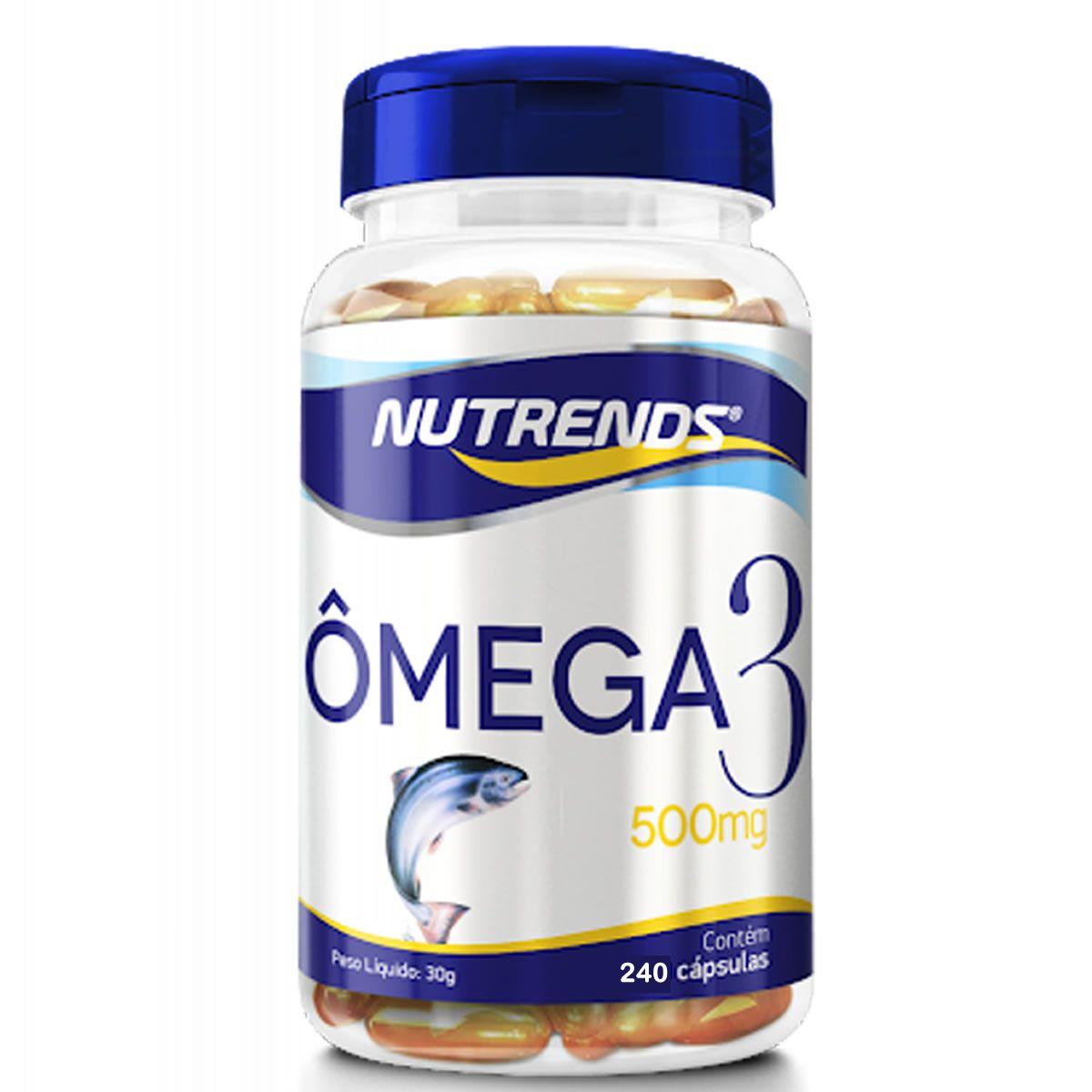 Omega 3 500mg 240 Cápsulas - Nutrends