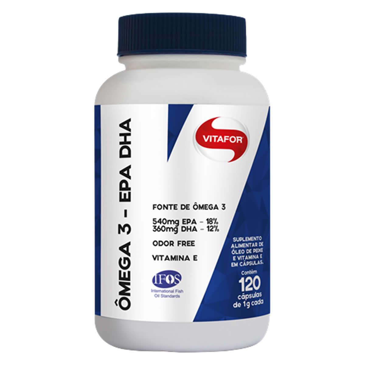 Omega 3 EPA DHA 120 Cápsulas - Vitafor