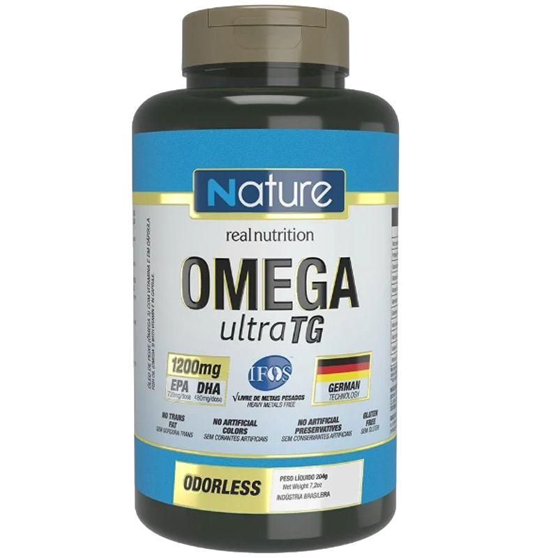 Omega Ultra TG - 200 Cápsulas - Nutrata