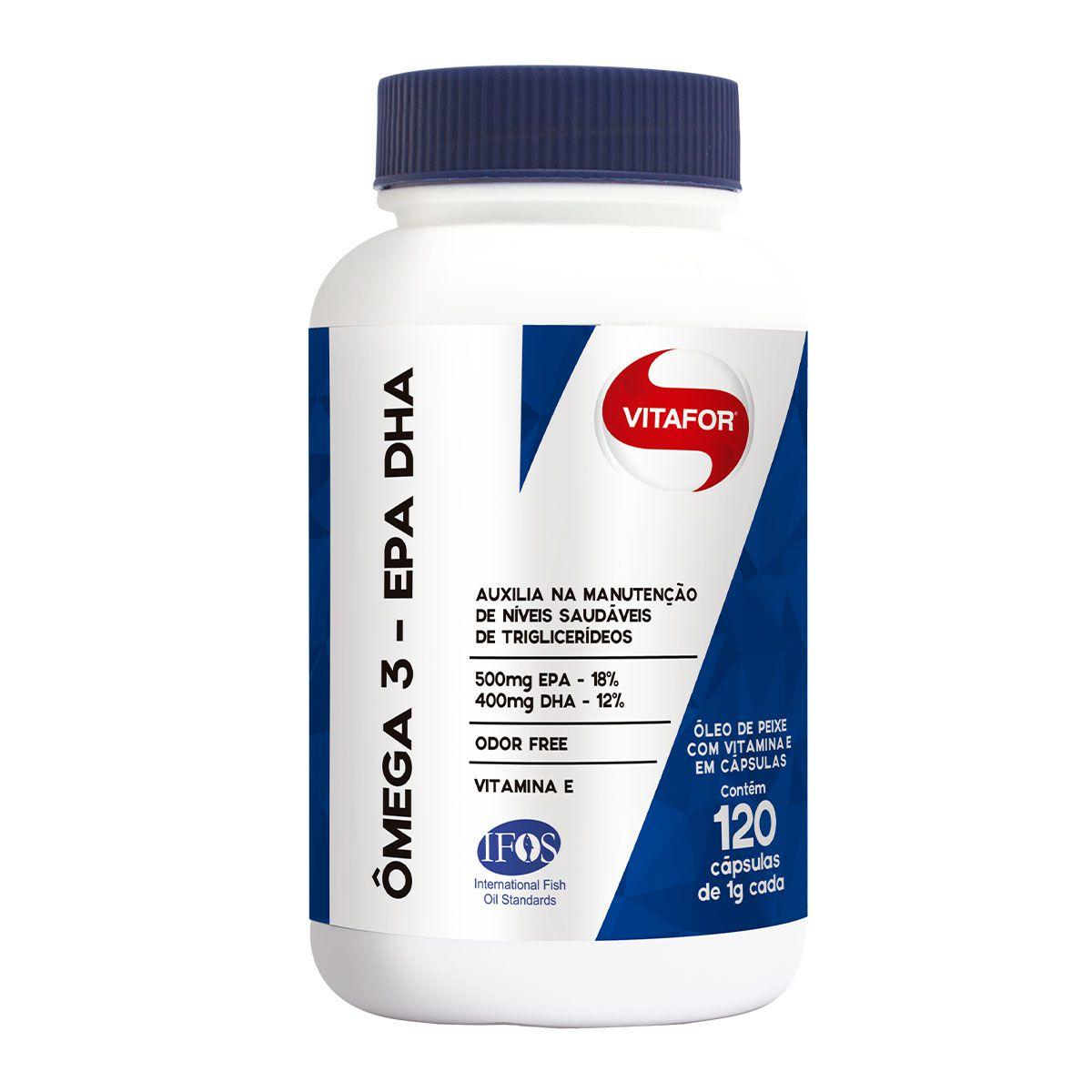 Omegafor 120 Cápsulas - Vitafor