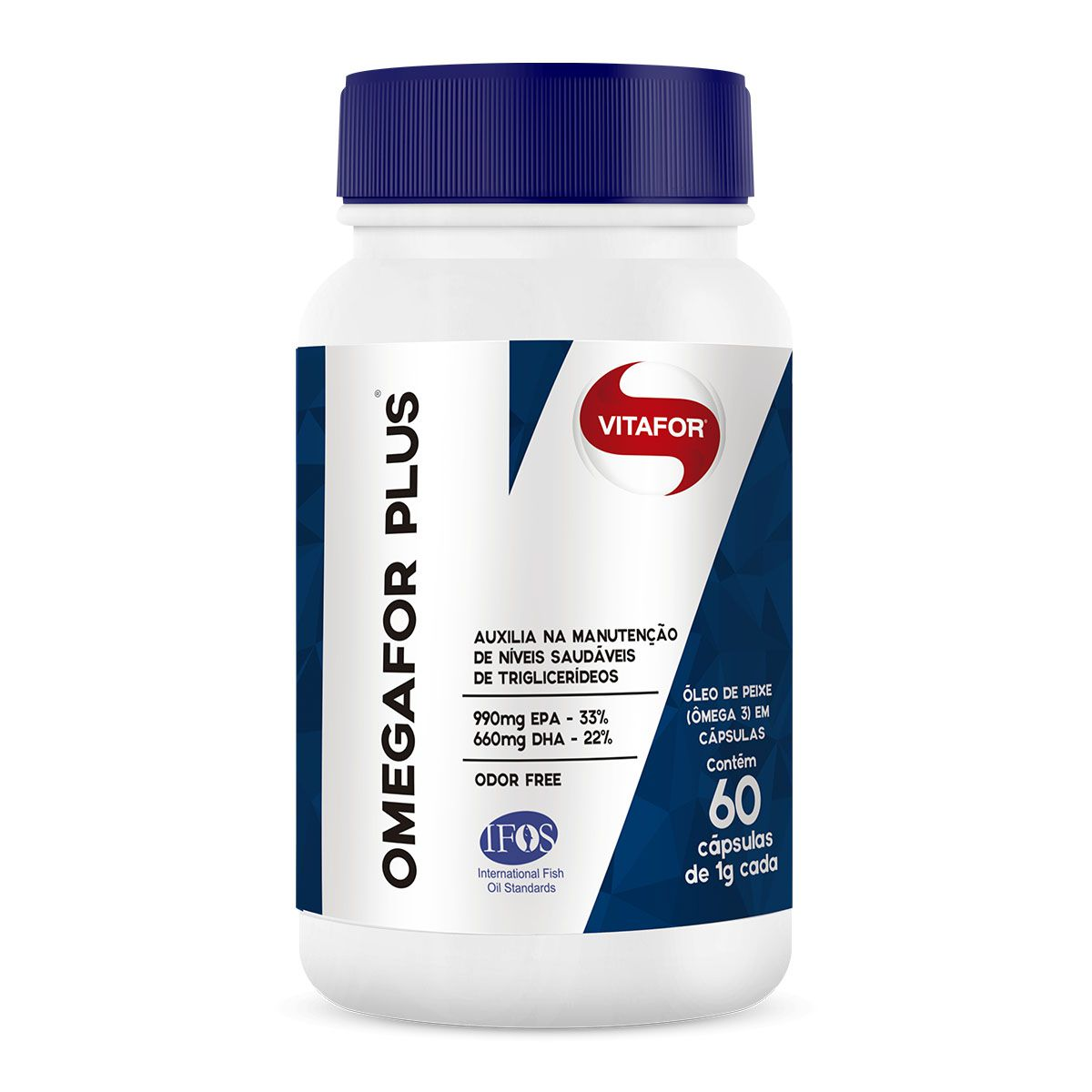 Omegafor Plus 60 Cápsulas - Vitafor