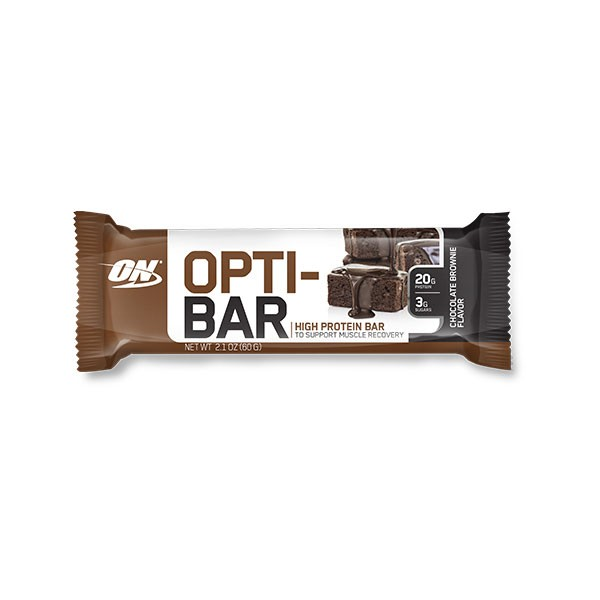 Opti-Bar 60 g Chocolate Brownie - Optimum Nutrition