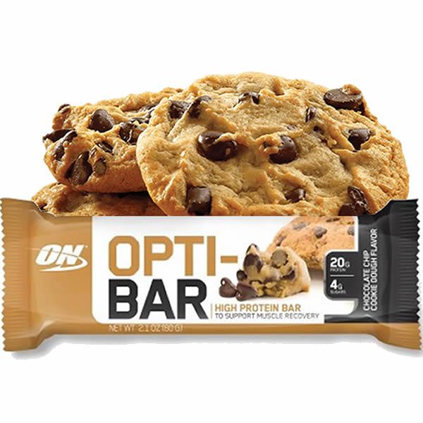 Opti-Bar 60 g Chocolate Chip Cookie Dough - Optimum Nutrition