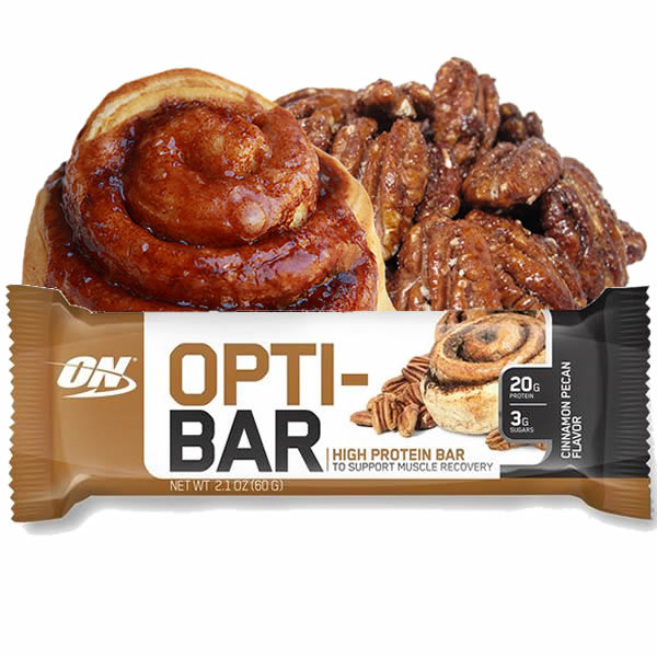 Opti-Bar 60 g Cinnamon Pecan - Optimum Nutrition