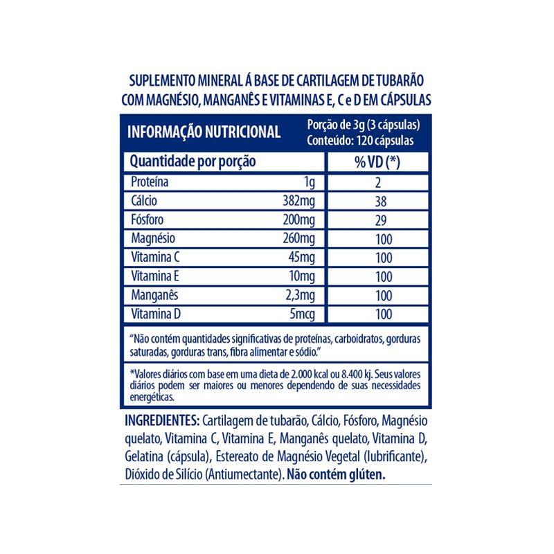 Osteo Bi-Max - 120 Cápsulas - Arnold Nutrition