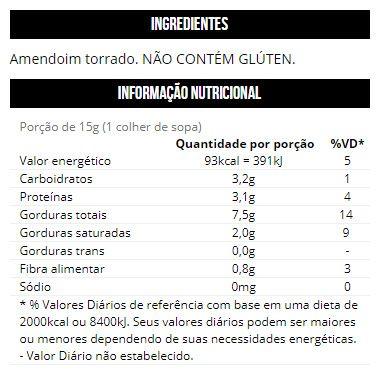 Pasta de Amendoim 1kg - Max Titanium