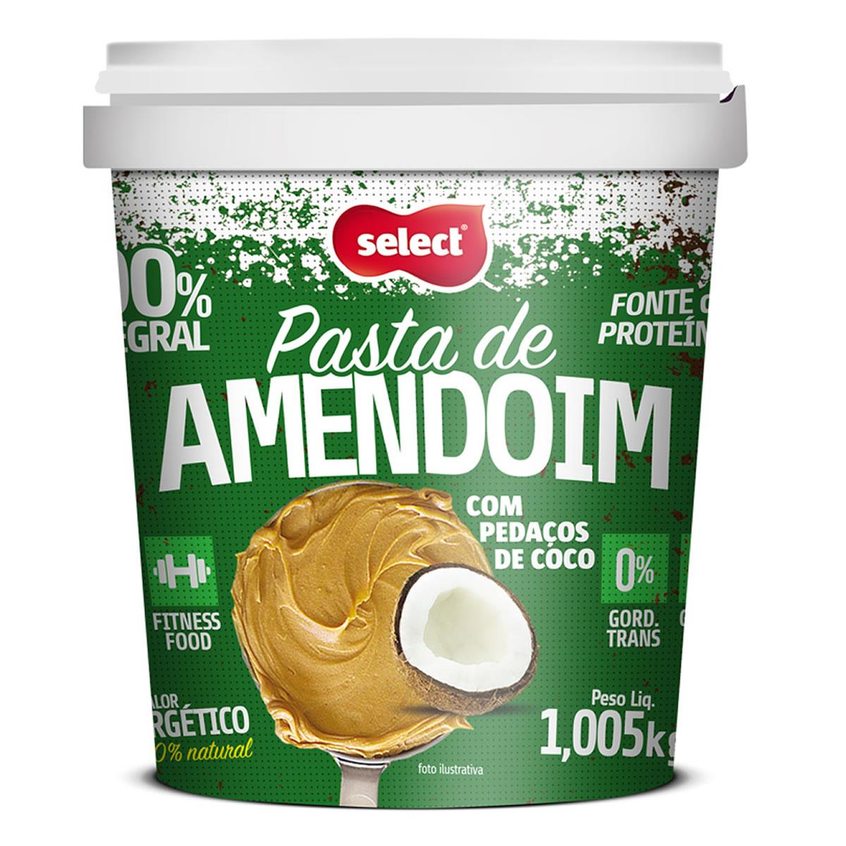 Pasta De Amendoim Saborizada 1Kg - Select