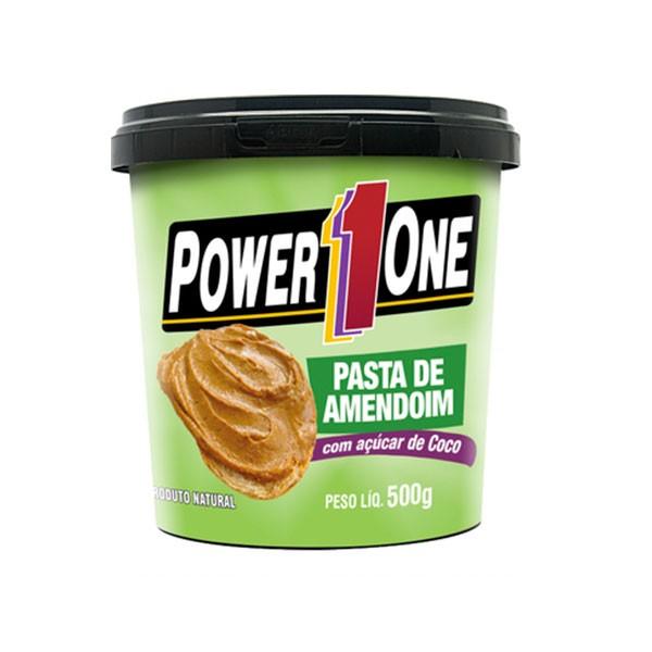Pasta de amendoim com Açúcar de Coco 500 g - Power One
