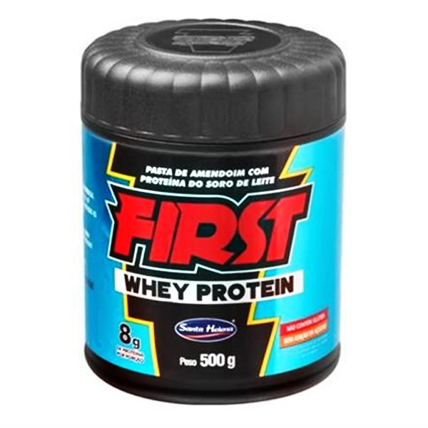 Pasta de Amendoim com Whey 500 g - First