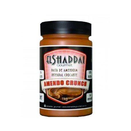 Pasta de Amendoim Crocante Integral 1 kg - El Shaddai