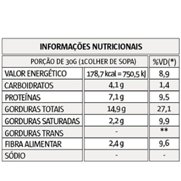 Pasta de Amendoim - Tradicional - 1 kg - Vitapower