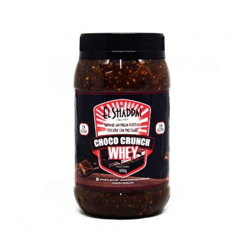 Pasta de Amendoin  Crocante com Whey  - 500g - El Shaddai