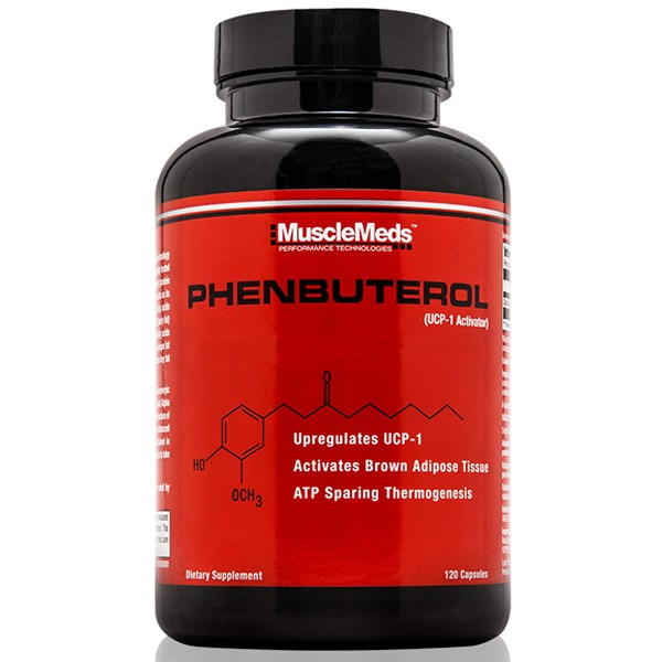 Phenbuterol 120 Cápsulas - Musclemeds