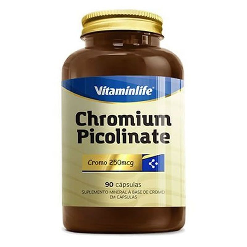 Picolinato De Cromo 90 Cápsulas - Vitamin Life