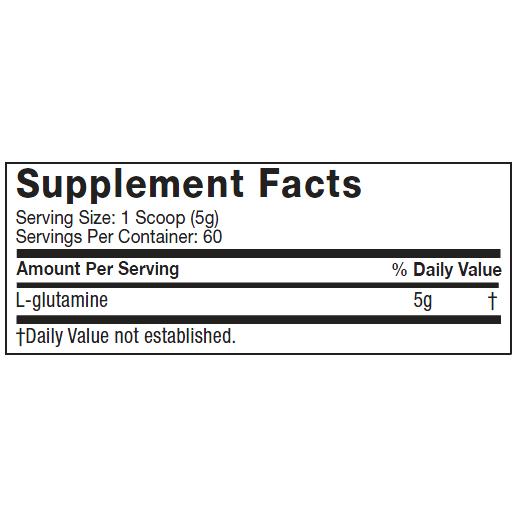 Platinum 100% Glutamine 300 g - Muscletech
