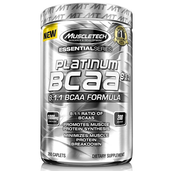 Platinum BCAA 8:1:1 200 Tablets - Muscletech