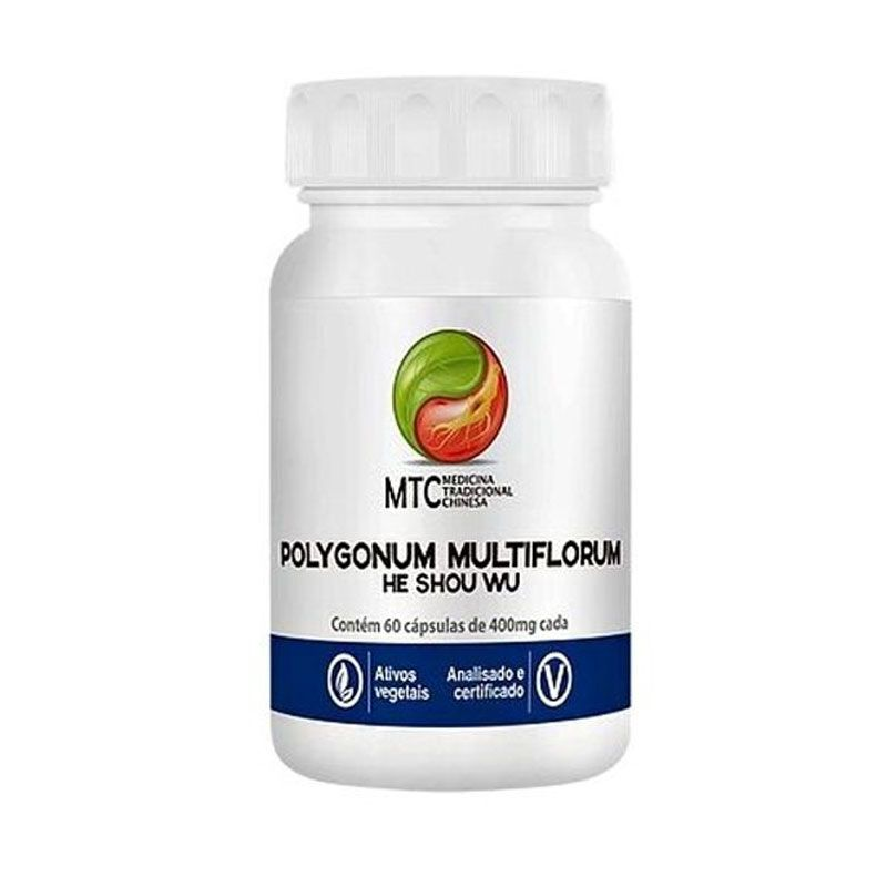 Polygonun Multiflorum - He Shou Wu (60 cápsulas) - Vitafor