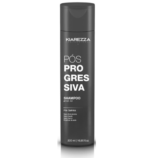 Pós Progressiva - Shampoo 300ml - Kiarezza
