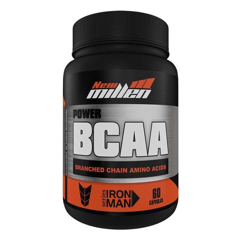 Power BCAA - 60 Cápsulas - New Millen