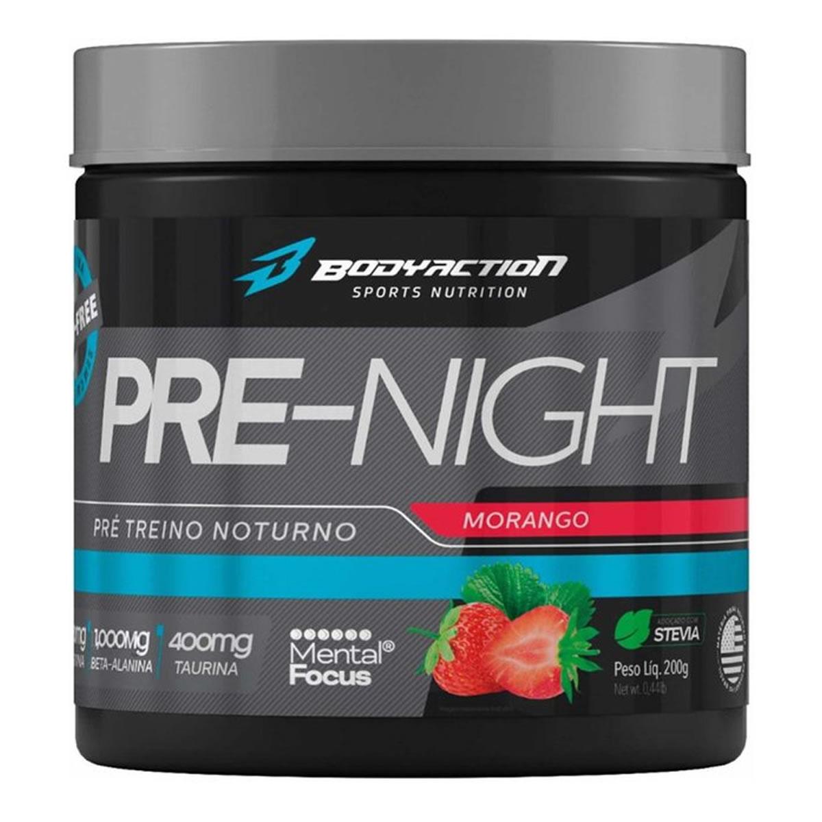 Pré-Night 200g - Body Action